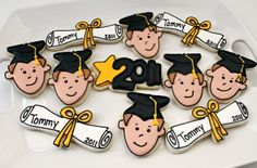 Well, DUH! Graduation Cookies Simplified