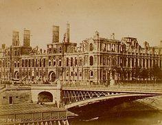 Hôtel de ville., Siege of Paris, Special Collections, Northwestern University Library