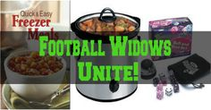 Football Widows Unite ~ Here are some great football widow activities you can do alone or with a group of fellow football widows! | #Ad