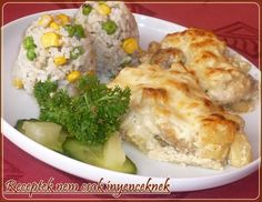 Mashed Potatoes, Eggs, Meat, Chicken, Breakfast, Ethnic Recipes, Food, Whipped Potatoes, Morning Coffee