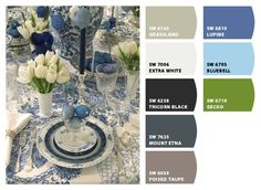 Lovely color inspiration and palette.