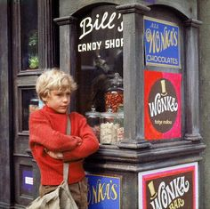 willie wonka and the chocolate factory...(cheer up, charlie.) Can't beat the original.
