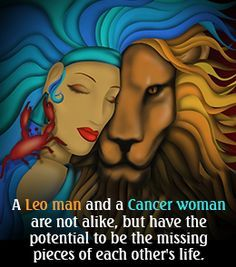 Compatibility between Leo man and Cancer woman