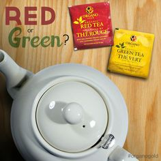 Can't decide between red or green tea? Why not try both? You can enjoy the natural fat-burning benefits of Organo Gold's green tea AND the double hit of the Ganoderma and cordyceps herbs in the red tea. Separate or together, Organo Gold's teas are delicious. 25 tea bags per box (each tea bag can be used twice) www.randkcafe.myorganogold.com Red Gold, Coffee, Fat Burning, Separate, Green, Natural, Box, Gourmet, Kaffee