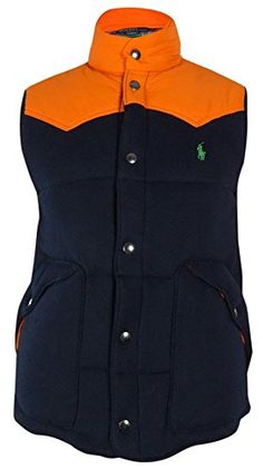 Polo Ralph Lauren Men\u0026#39;s Premier Fleece Western Vest (Medium) Polo Ralph Lauren ++