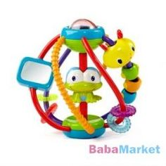 The Bright Starts Clack & Slide Activity Ball will keep baby entertained with loads of fun and sounds! Fun activities include bead chaser, rattle ball, and mirror to delight baby's senses. Toddler Toys, Baby Toys, Kids Toys, Infant Toddler, 4 Month Old Baby, Baby Sense, Flying With A Baby, Toys For 1 Year Old, Developmental Toys