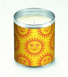Mosaic Sunshine Candle