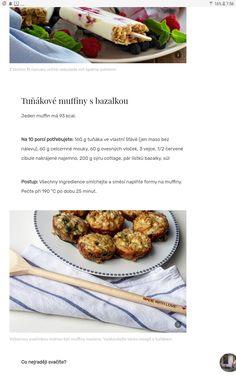 Tunakove muffiny Pork