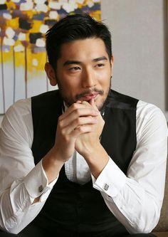 Godfrey Gao as Carlton Bao? Short Hair Man, Asian Men Long Hair, Sexy Asian Men, Sexy Men, Fun To Be One, How To Look Better, Godfrey Gao, Asian Men Hairstyle, Asian Hotties