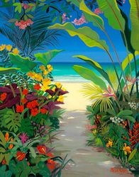 'Tropical Garden' by Shari Erikson