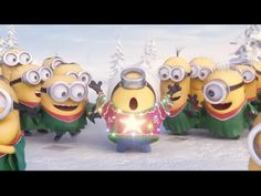 Minions Singing Christmas Song Jingle Bell – 2014 by http://www ...