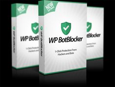 WP Bot Blocker  http://www.wpbotblocker.co/ No More Worrying About Hackers & Bots  ●  No more risk of losing your site and all your hard work.  ●   No need to setup a bunch of complicated security measures to protect your site.  ●  No more worrying about hackers ever again.  ●   No hair-yanking tech skills required with WP Bot Blocker (Simply install it and you're DONE.)WP Bot Blocker  http://www.wpbotblocker.co/
