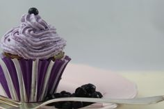 Blueberry Lemon Cupcake #ichbacksmir #blaubeeren