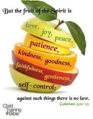 Image result for the fruit of the spirit in the bible