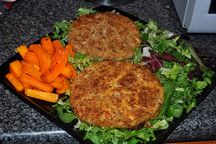 Salmon fish cake - Losers - Helen's Slimming World Recipes