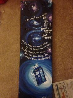 Dr. Who Canvas