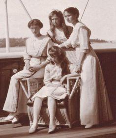 OTMA onboard the Standart, 1913
