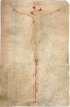 Fra Beato Angelico - Study for Crucifixion. 1425