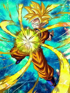 """[Resolute Valor] Super Saiyan Gohan (Youth) """"Damn you! Dragon Ball Z, Dbz, Goku Pics, Goku Wallpaper, Mobile Wallpaper, Kid Goku, Image Fun, Anime Japan, Drawing Skills"""