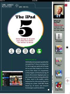 Richard Branson's Project iPad Magazine