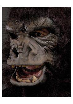 Two Bit Roar Gorilla Mask - Halloween Masks Gorilla Suit, Gorilla Mask, Unique Halloween Costumes, Halloween Masks, Star Trek Show, Superman Man Of Steel, Running Costumes, Head Mask, Halloween Accessories