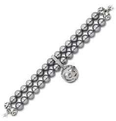 View this Beauty Bound Grey Bracelet ($325) at Ancona jewelers by Clicking Here http://www.belleetoilejewelry.com/product/?id=408  #BelleÉtoile