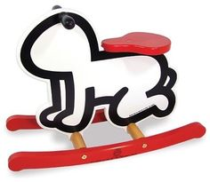 Cute Keith Haring rocker