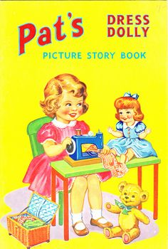 Pat's Dress Dolly, P.M. (Productions) Ltd. Undated, Ref. No. P53/5 Copyright 4