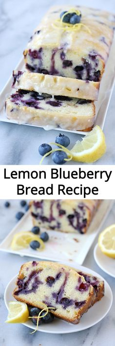 Perfectly moist flavorful and delicious Lemon Blueberry Loaf Recipe Perfectly moist flavorful and delicious Lemon Blueberry Loaf Recipe Blueberry Bread Recipe, Blueberry Loaf, Blueberry Recipes, Lemon Recipes, Bread Recipes, Baking Recipes, Cake Recipes, Just Desserts, Delicious Desserts