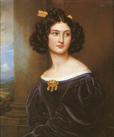 Joseph Karl Stieler (1781-1858) — Nanette Kaula, 1829 (1245x1500)
