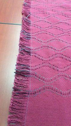 Lap rug from Christine Allen's Springtime pattern book