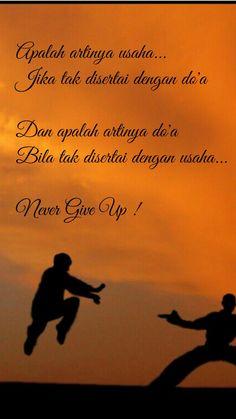 Jangan menyerah ukhti...  😊😊😊