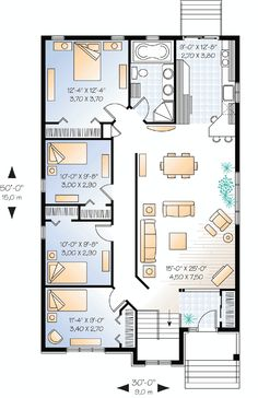 adorable bungalow house plan 50105ph craftsman northwest narrow lot photo gallery 1st. Black Bedroom Furniture Sets. Home Design Ideas