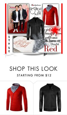 """Man style :)"" by merryyyyy-132 ❤ liked on Polyvore featuring Dolce&Gabbana and Maybelline"