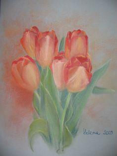 Tulipany - pastel Helena