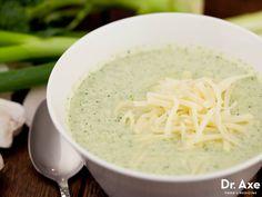 Creamy Broccoli Soup with Cheese Recipe
