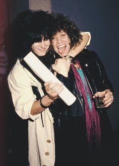 Jon Bon Jovi and Nikki Sixx ❤️❤️❤️