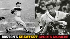 Is Ted Williams' Season or Jim Rice Saving a Life a Bigger Boston Sports Moment? Jim Rice, Batting Average, Old Fan, Boston Sports, First Round, 4 Year Olds, The 4, Sorting, In This Moment