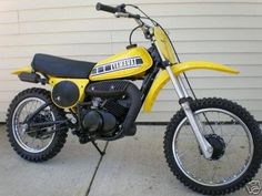 This is what I learned to ride on. Great vacation, thanks David.   1978/79- Yamaha YZ80