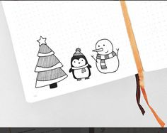 when holiday doodles are finally socially acceptable bc it's after thanksgiving 🙌🏼🎄🐧⛄️ Christmas Tree Sketch, Christmas Doodles, Christmas Drawing, Christmas Cards, Bullet Journal Font, Tree Sketches, Journal Layout, Bullet Journal Inspiration, Xmas Crafts
