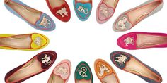 I am star struck over Charlotte Olympia's latest cosmic collection of Chinese zodiac slippers! c/o net-a-porter