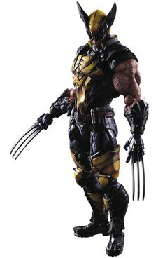 Marvel Wolverine Collectible Figure by Square Enix Marvel Wolverine, Marvel Comics, Wolverine Costume, Heros Comics, Hq Marvel, Logan Wolverine, Marvel Heroes, Logan Xmen, X Men