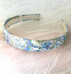 Liberty of London - Cotton Headband - Lotus Cotton Print - Liberty Hairband - Liberty Lotus Print - Liberty Headband - Flower Headband by PureBlissJewelry on Etsy