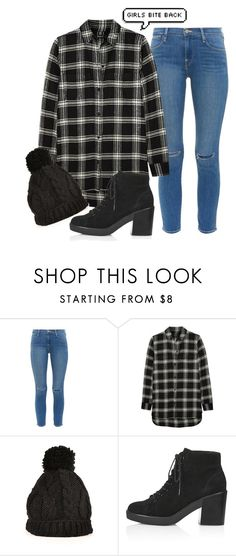 """""""Girls bite back"""" by rusher-decorazon on Polyvore featuring moda, Frame Denim, Madewell y Topshop"""