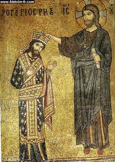 Roger II of Sicily. My 28th great-grandfather. Direct bloodline: paternal.