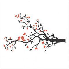 Adesivo Decorativo de Parede - Tree Branch