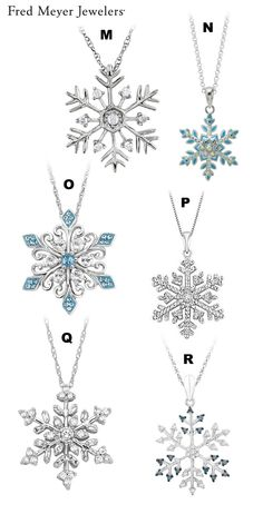 ► ► VOTE on the Prettiest Snowflake Pendant in our Snowflake Pendant Contest! :)