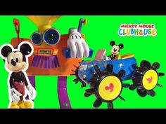 Mickey Mouse Clubhouse Car Wash Color Change Water Playset Fun Bathtime Toy Video - YouTube