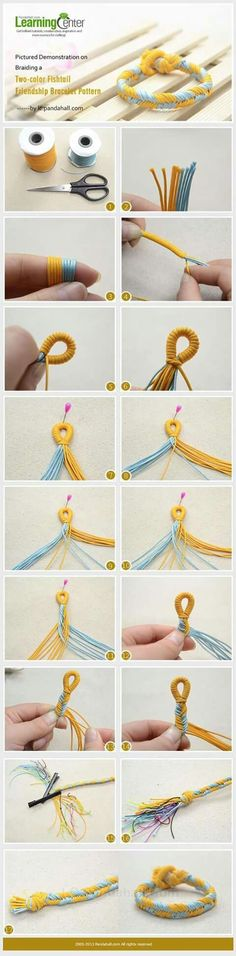 2 Color Fishtail- loop closure