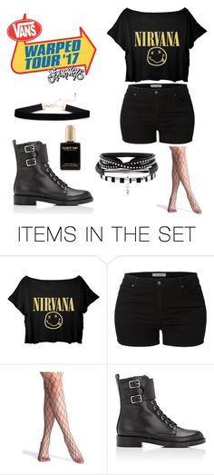 """Warped Tour 2017 Outfit"" by piercethehorizon12 ❤ liked on Polyvore featuring art"